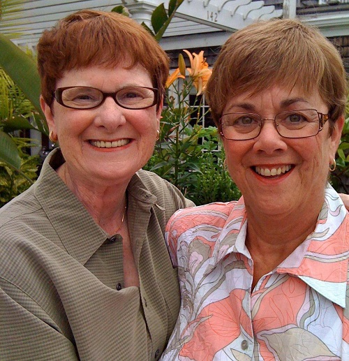 Mary Walsh (L) and Bev Nance (R)