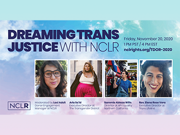 Dreaming Trans Justice with NCLR