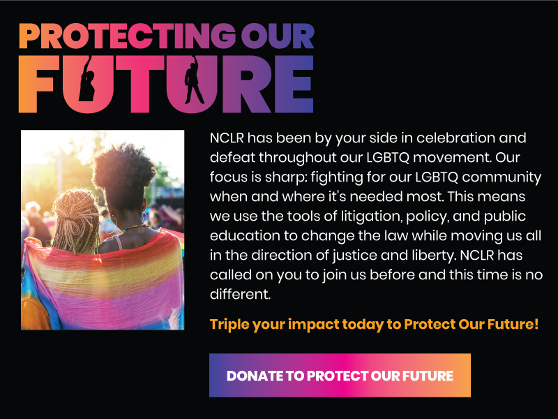 Protecting our Future. Donate Now!
