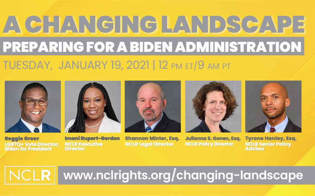 VIDEO – A Changing Landscape: Preparing for a Biden Administration