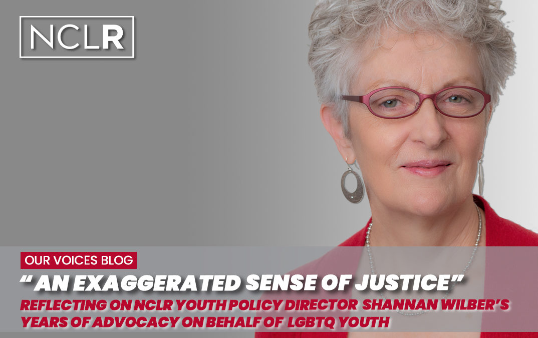 """""""An Exaggerated Sense of Justice"""" – NCLR's Youth Policy Director Shannan Wilber"""