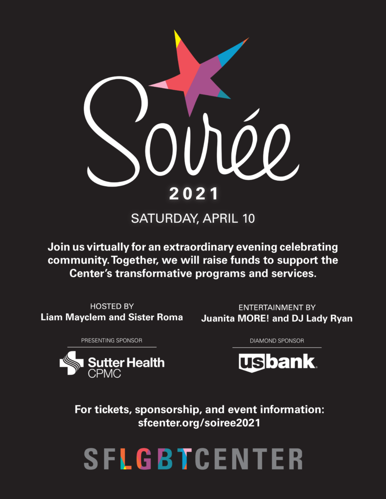 Soiree 2021 Saturday, April 10