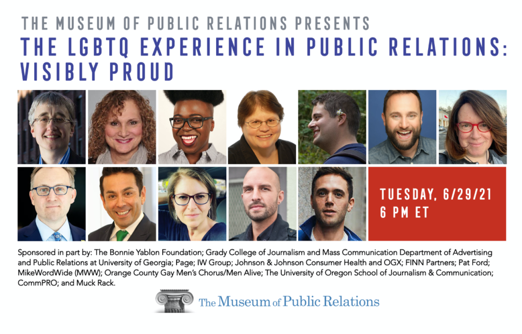 The LGBTQ Experience in Public Relations: Visibly Proud